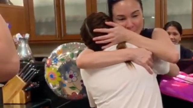 TOGETHER AGAIN. Sisters Claudine and Gretchen Barretto reunite after years of being estranged. Screenshot from Instagram.com/claubarretto