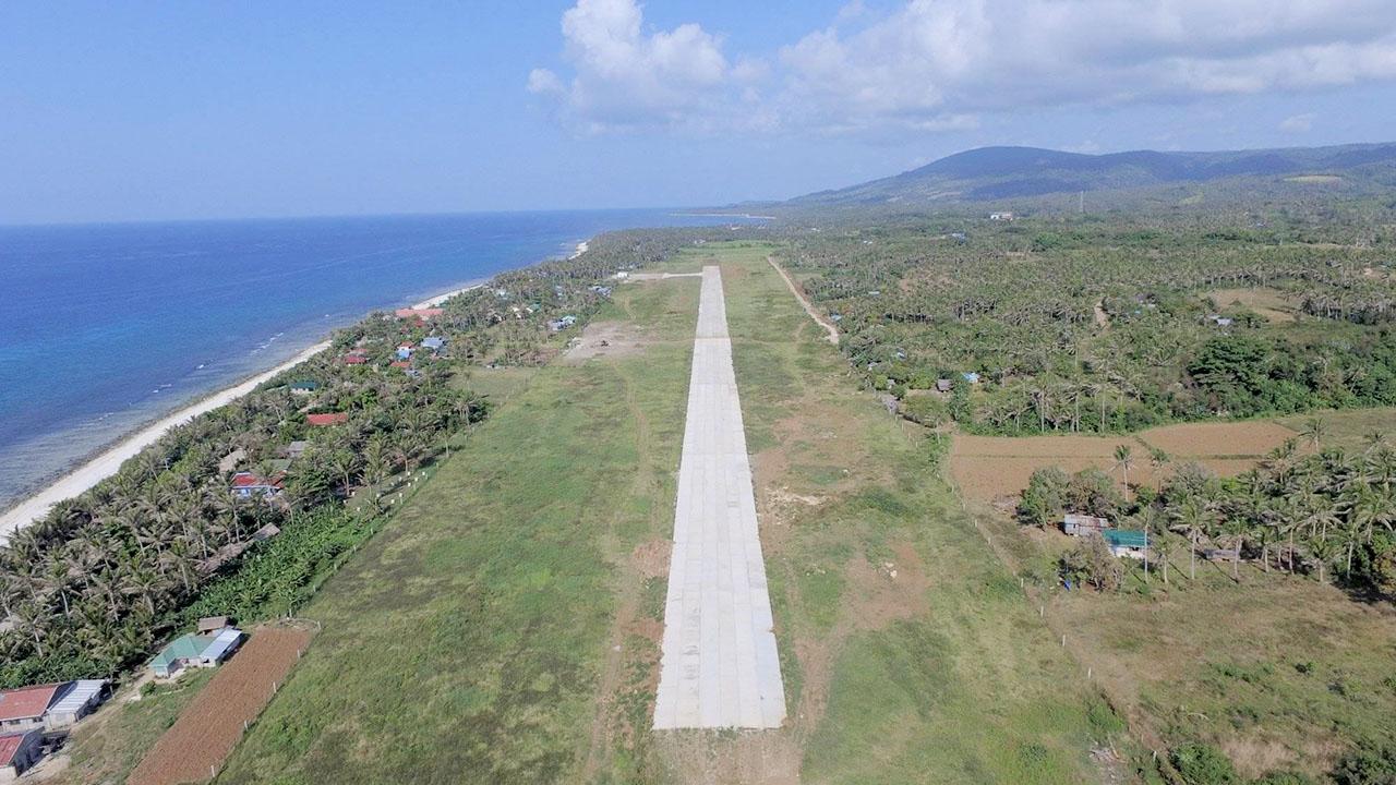 NEW. The new runway of the Calayan Island. Photo courtesy of Owen Benigno Mallabo
