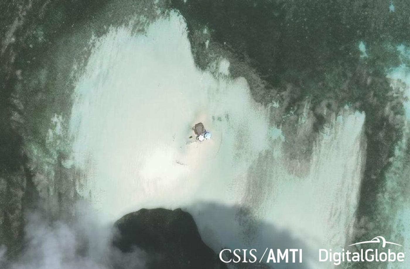 Photo from CSIS/AMTI/DigitalGlobe