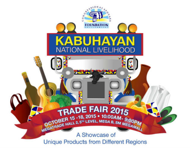 KABUHAYAN NATIONAL LIVELIHOOD.This year's trade fair by the Congressional Spouses Foundation will showcase products from different parts of the Philippines. Photo courtesy of Congressional Spouses Foundation Inc