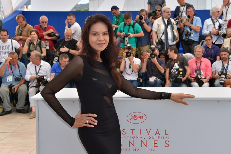 CONTROVERSIAL PH REP. Actress Maria Isabel Lopez poses during a photo call for the film 'Ma'Rosa' at the 69th Cannes Film Festival in Cannes, southern France in 2016. Photo by Loic Venance/ AFP