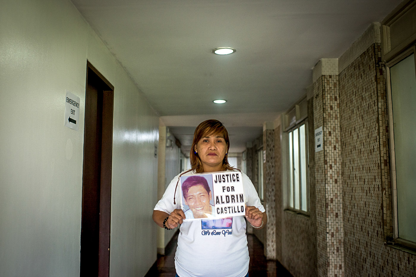 WOMANLABAN. Nanette Castillo's search for justice continues. Photo by Eloisa Lopez/Rappler