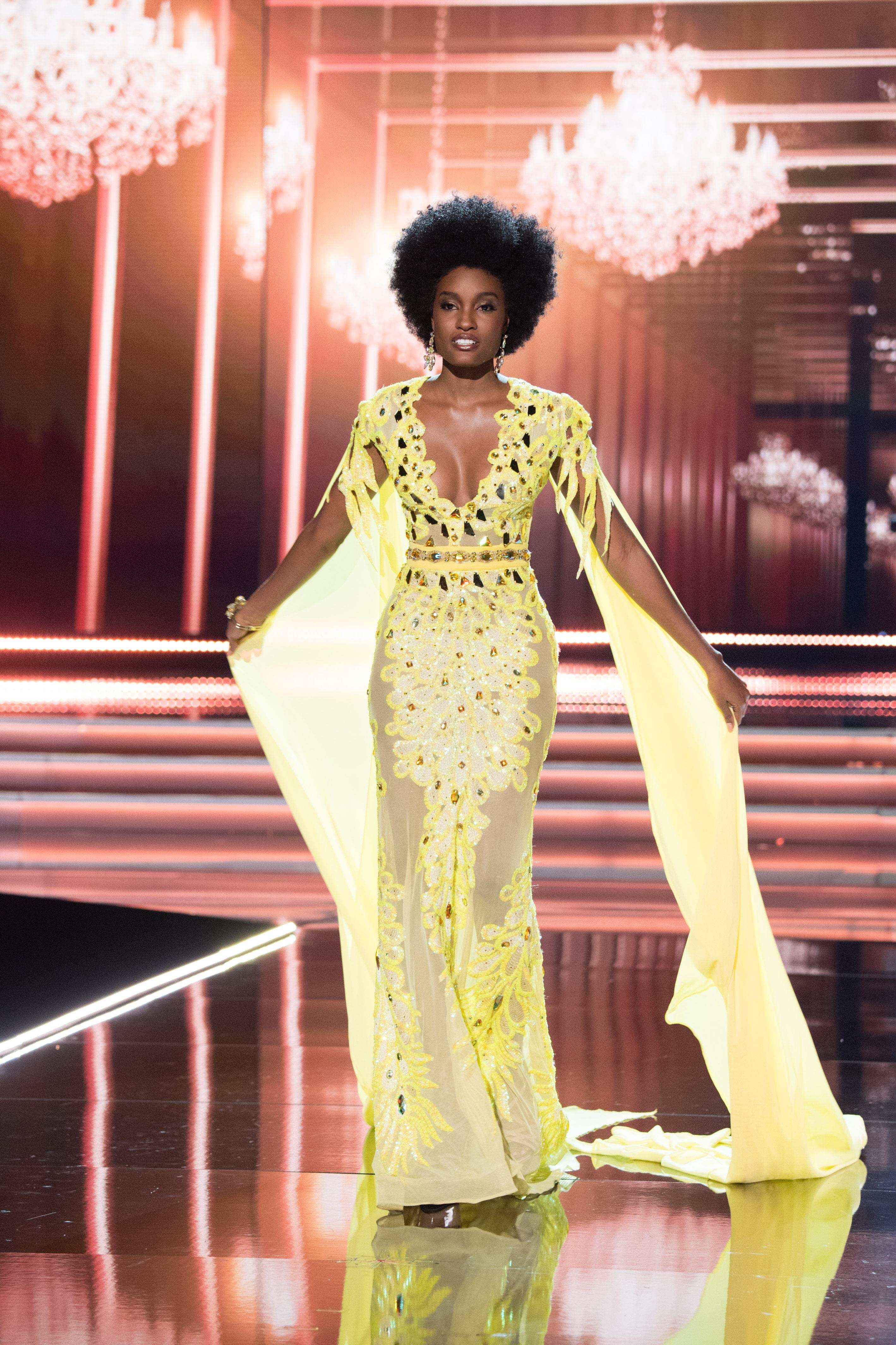 Miss Jamaica Davina Bennett. Photo from the Miss Universe Organization
