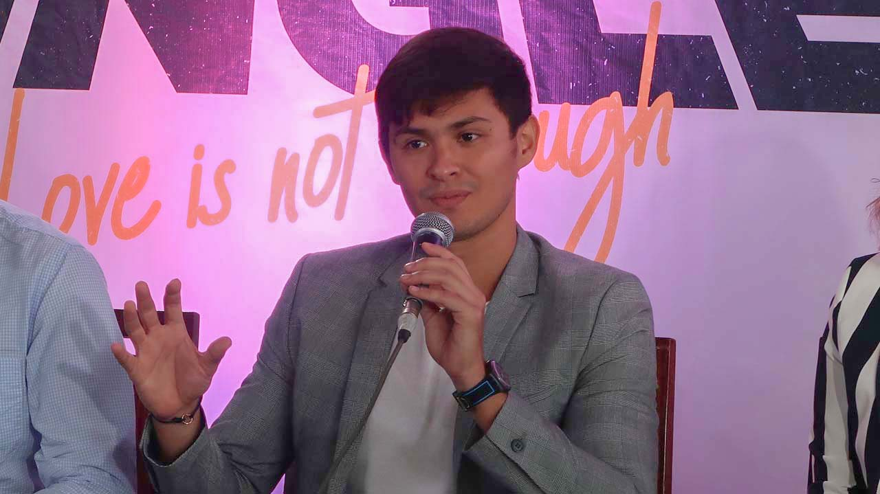 NOT JUST LOVE. Matteo Guidicelli says there are other factors to consider aside from love in a relationship.