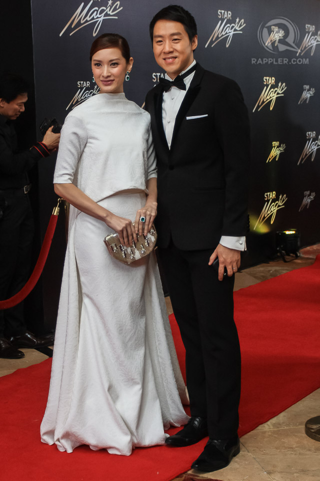 Maricar Reyes Poon with husband Richard Poon during last year's Star Magic Ball. File photo by Manman Dejeto/Rappler