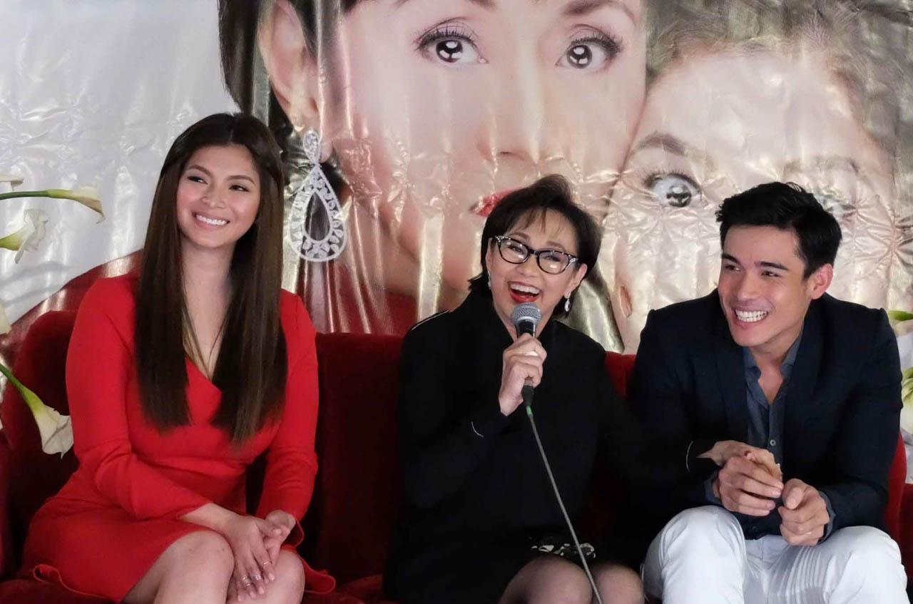 EVERYTHING ABOUT HER. Vilma Santos, Angel Locsin, and Xian Lim star in the movie. Photo by Alecs Ongcal/Rappler