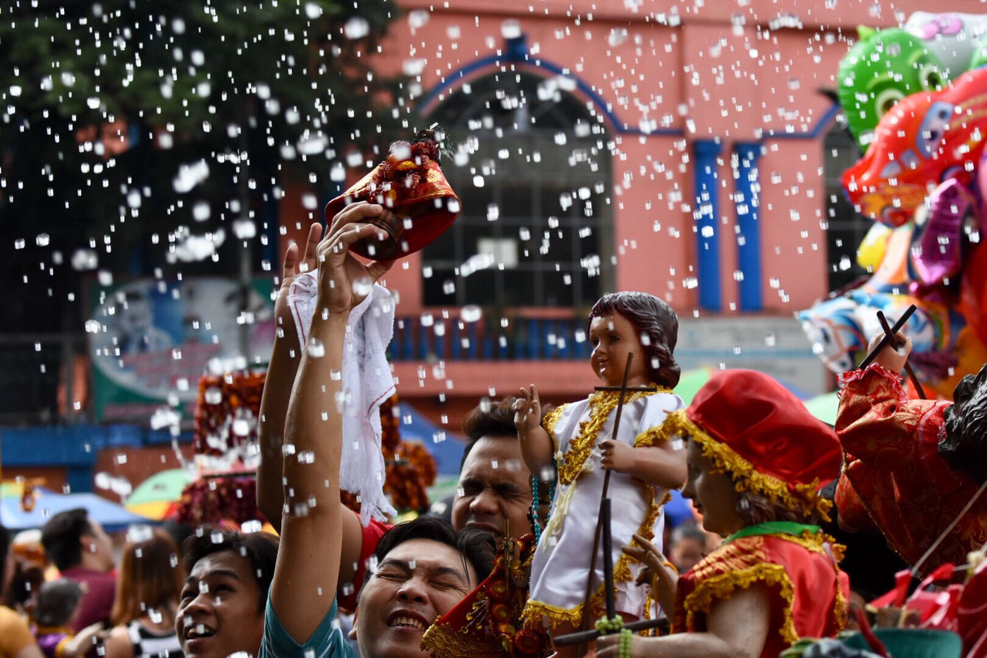 POPULAR DEVOTION. The Santo Niu00f1o is the oldest symbol of the Christian faith in the Philippines, says Manila Archbishop Luis Antonio Cardinal Tagle. Photo by Angie de Silva/Rappler