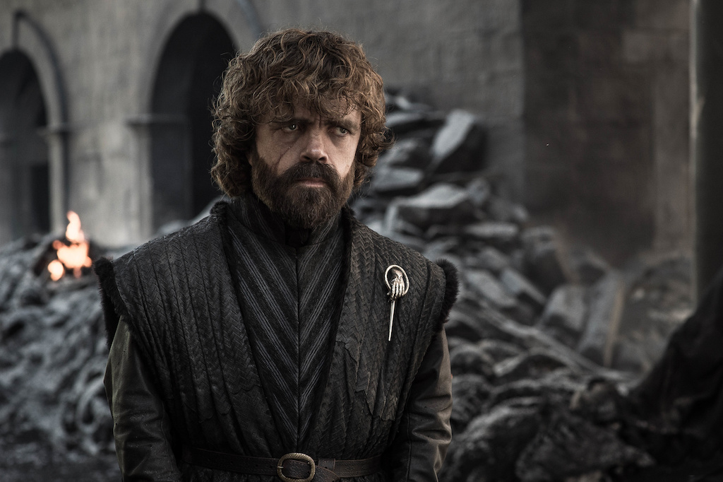 HAND OF THE QUEEN. Tyrion Lannister stands amidst the devastation in the Westerosi capital. Photo by Helen Sloan/HBO