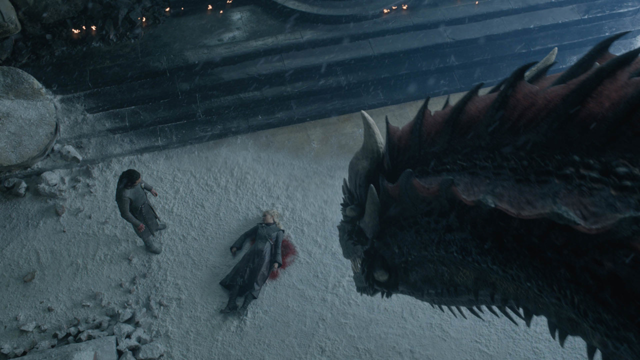 FOR THE THRONE. Dany dies in the final episode of the series u2013 at the hands of her nephew and lover Jon Snow, no less. Photo courtesy of HBO