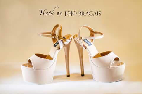 YVETHE. The Yvethe shoe designed by Jojo for his good friend, Bb Pilipinas Supranational 2014 Yvethe Santiago. Photo courtesy of Jojo Bragais