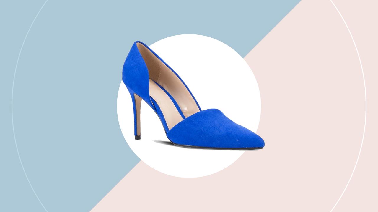 Mango asymmetric stiletto heels (P 1,295) zalora.com.ph