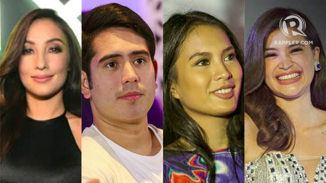 MEAN TWEETS. Isabelle Daza, Gerald Anderson, Anne Curtis and Solenn Heussaff are the latest stars to read mean tweets about themselves. Photos by Manman Dejeto/Rob Reyes/Rappler
