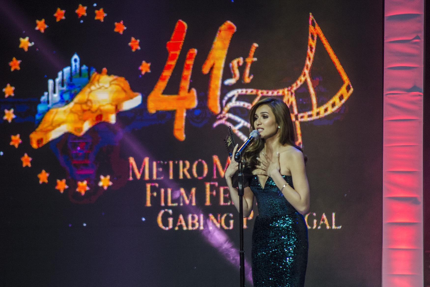 Jennylyn Mercado at the MMFF 2015 Awards Night. File photo by Rob Reyes/Rappler
