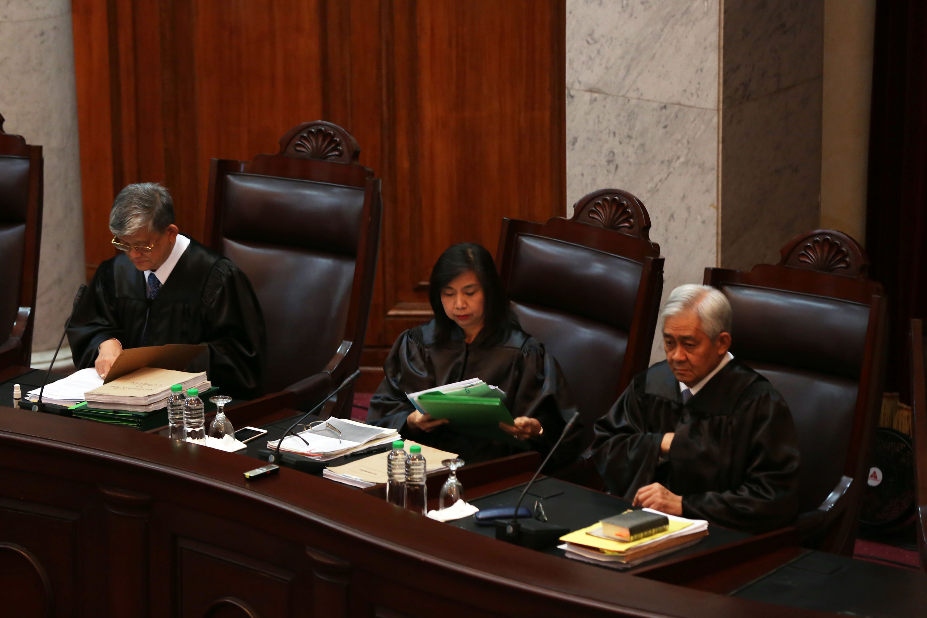 DUE PROCESS. Justice Francis Jardeleza (right) in a file photo. File photo by Rappler