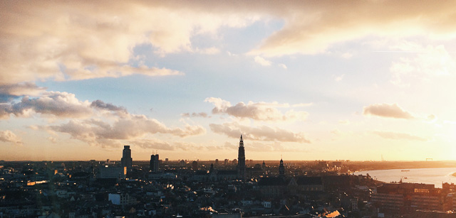 This view in Belgium