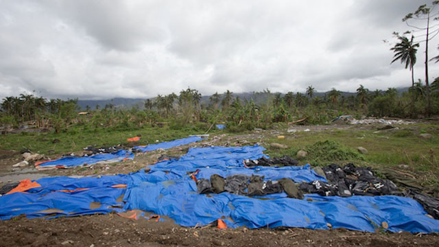 LOSS OF LIVES. Typhoon Pablo (Bopha), which hit Mindanao in December 2012, left 1,067 people dead and more than 800 others missing. File photo by John Javellana/Rappler