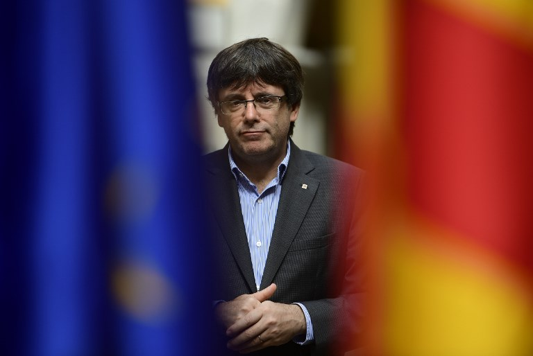 WHO'S NEXT? Carles Puigdemont proposes Quim Torra as his successor. AFP file photo