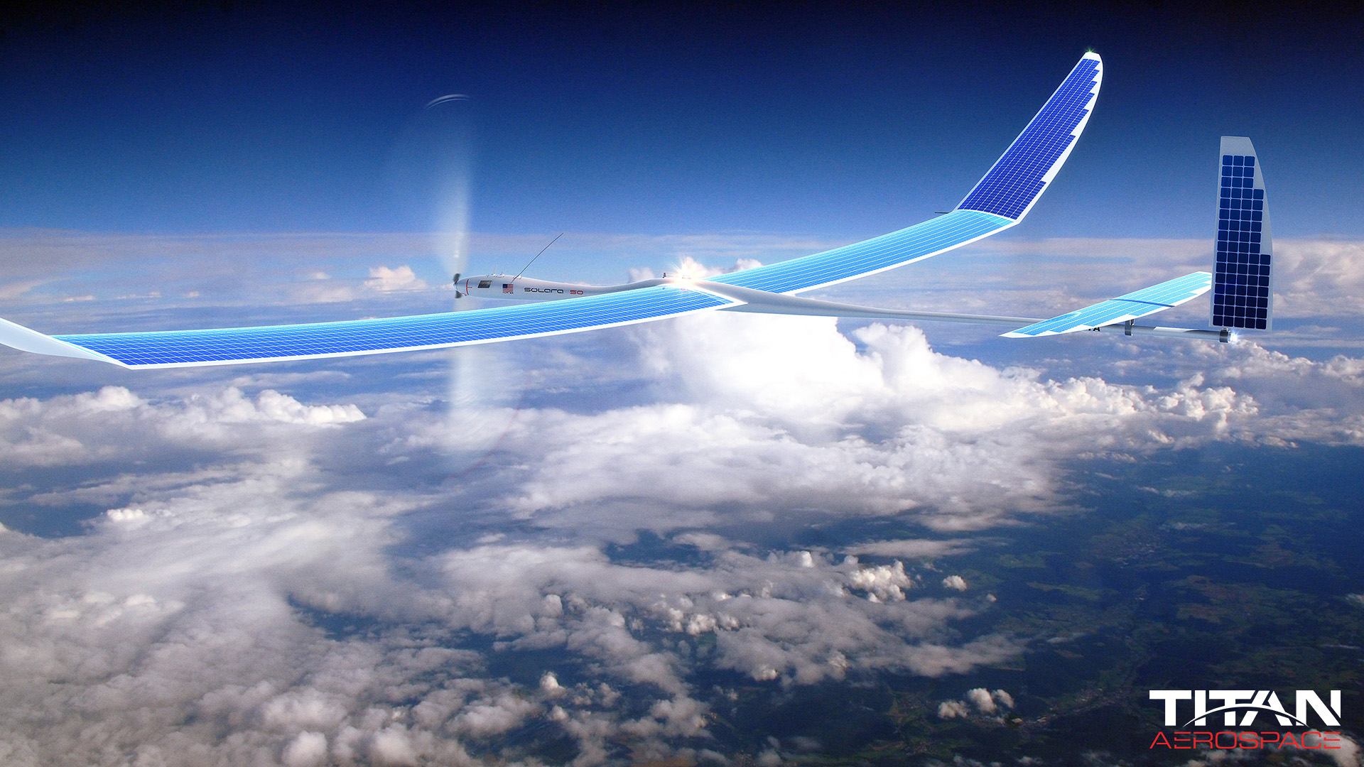 GROUNDED. The drones that were supposed to deliver internet from the sky, shown here as an artist's rendering, have been cancelled. Photo from Titan Aerospace