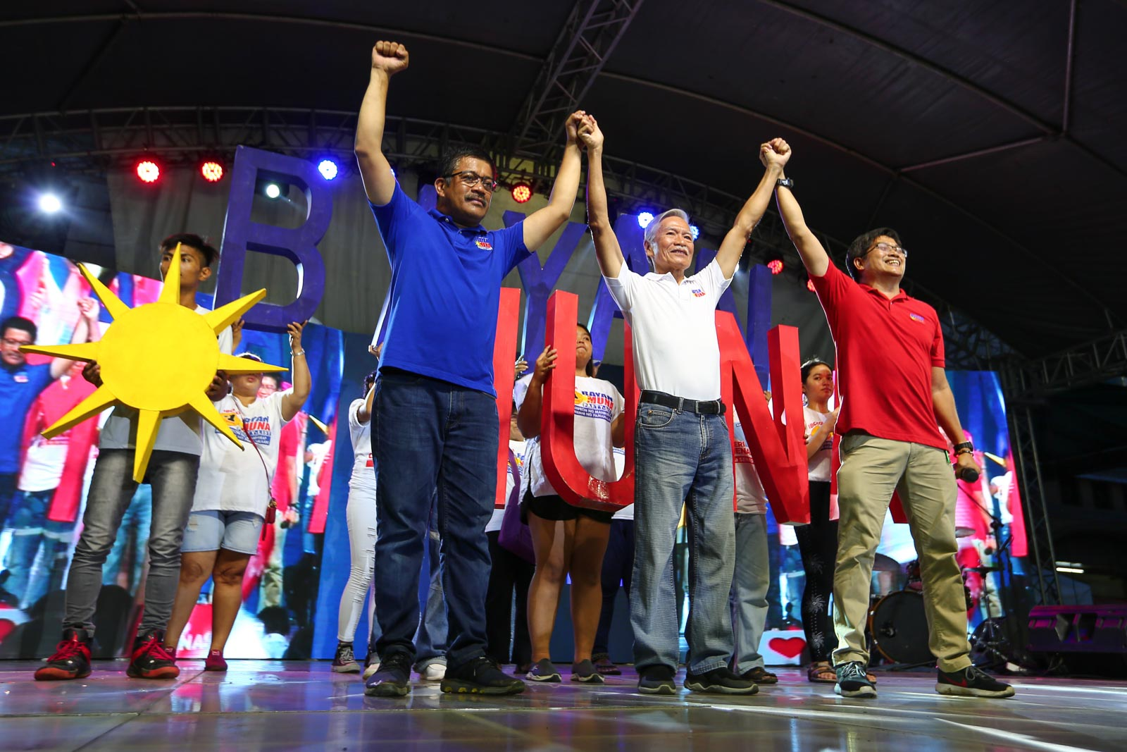 NOT EASY VICTORY. Bayan Muna ranks second in the 2019 party-list elections despite government's campaign against it. Photo by Jire Carreon/Rappler