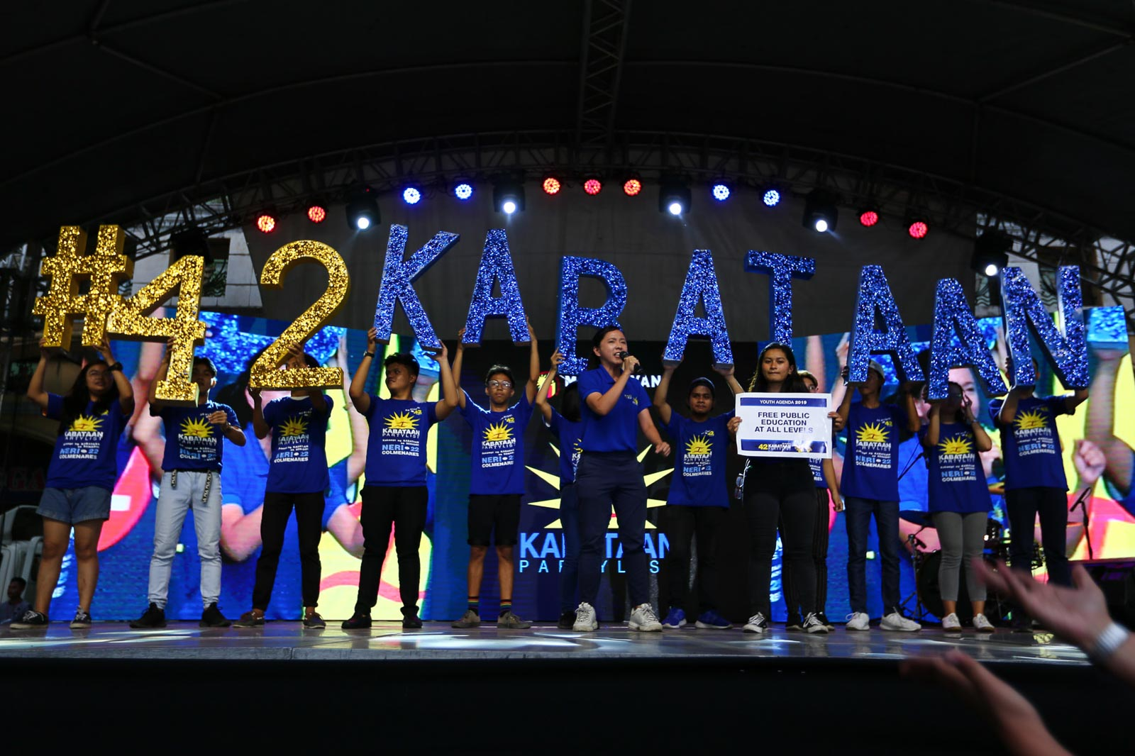 LAST SPOT. Kabataan current representative and first nominee Sarah Elago, clinched the last spot among party-list winners. Photo by Jire Carreon/Rappler