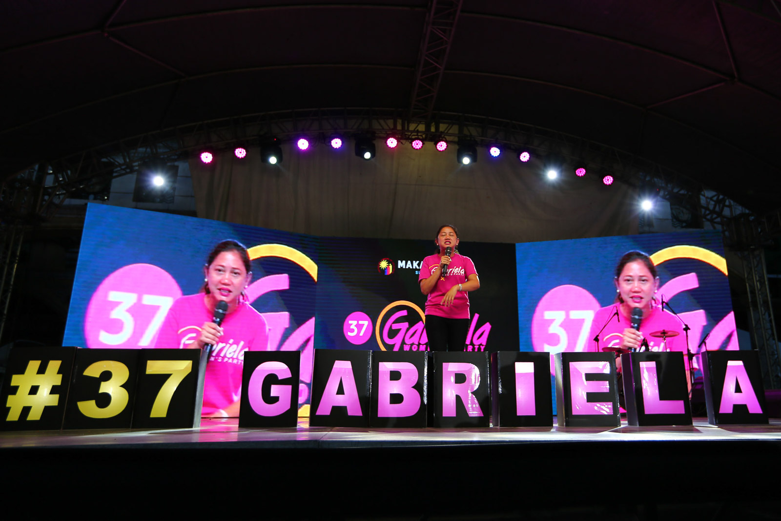 BACK IN THE HOUSE. Gabriela party is able to return to the House of Representatives after winning the 2019 elections. Photo by Jire Carreon/Rappler