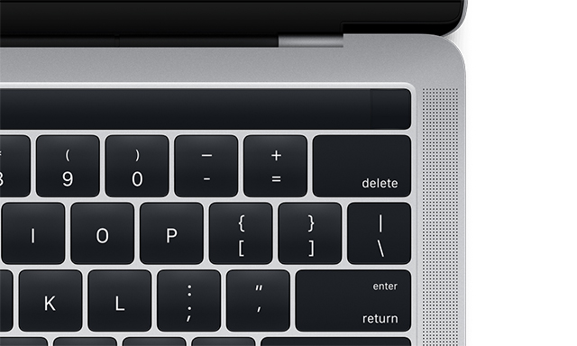 LEAKAGE. A MacOS update included images of what is potentially the new Macbook Pro. Photo from Apple.