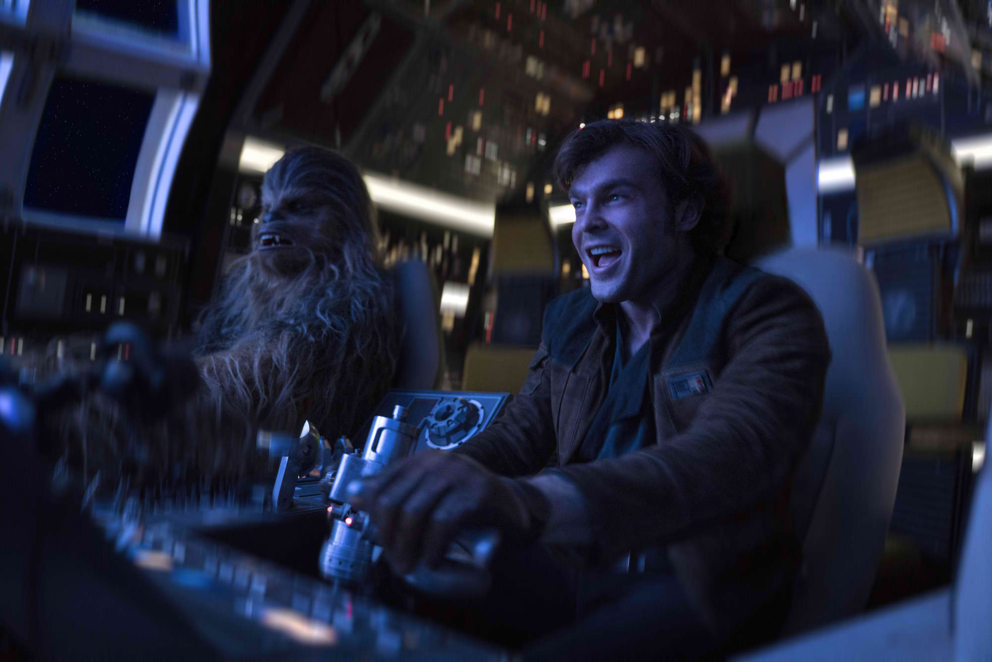 PARTNERS. Han and his partner Chewbacca take on an adventure of a lifetime.