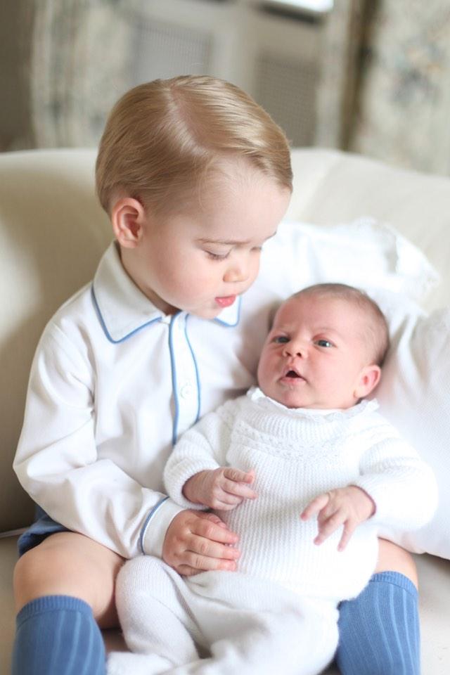 HRH The Duchess of Cambridge 2015/Handout via EPA