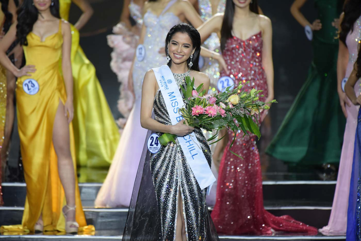 Kelley is named as the Miss Big Chill winner. Photo by Alecs Ongcal/Rappler