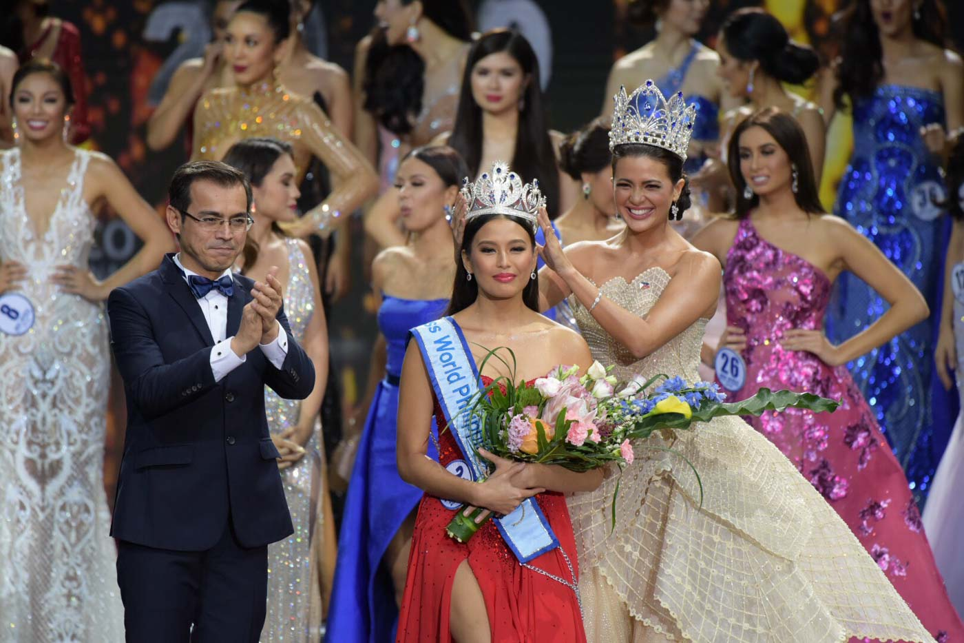 FOLLOWING MOM. Michelle Dee follows the steps of her mom Melanie Marquez in the pageant scene, as she competes for Miss World in December. Photo by Alecs Ongcal/Rappler