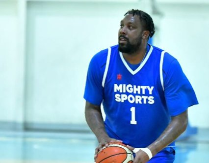 BIG TARGET. Andray Blatche and Mighty Sports aim for at least a top 4 finish in Dubai. Photo release