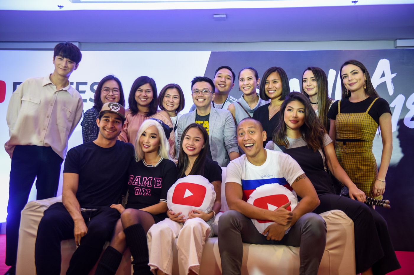 YOUTUBE FANFEST 2018. The Youtube stars and personalities gather once again for the annual YouTube Fanfest to meet their fans and supporters. Photos by Alecs Ongcal/Rappler