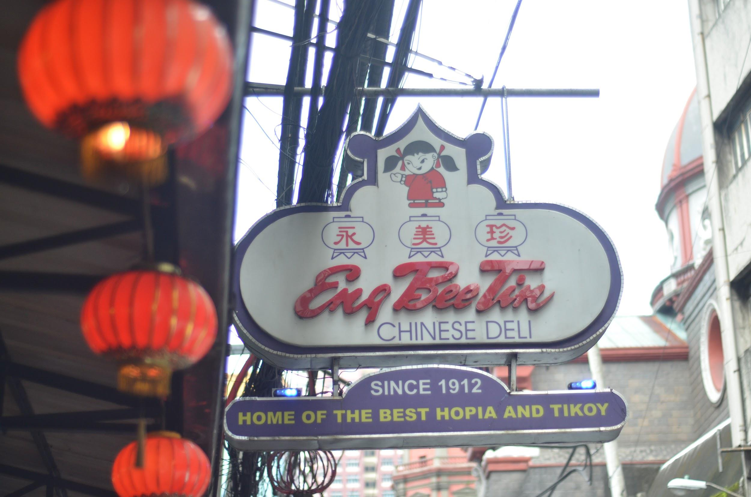 PIONEER. Eng Bee Tin has now been in the Philippines for over a hundred years.