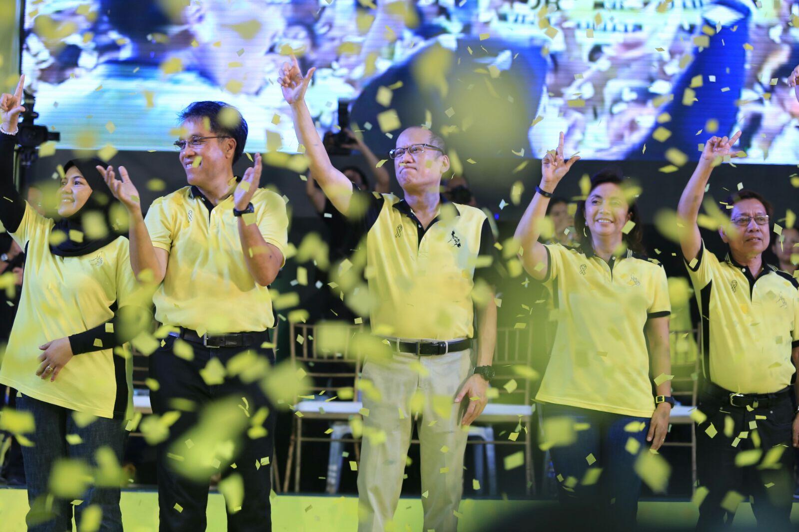 Pres. Benigno Aquino III launch the Roxas-Robredo campaign in Capiz on Feb. 9, 2016. Photo courtesy of the Malacanang Photo Bureau