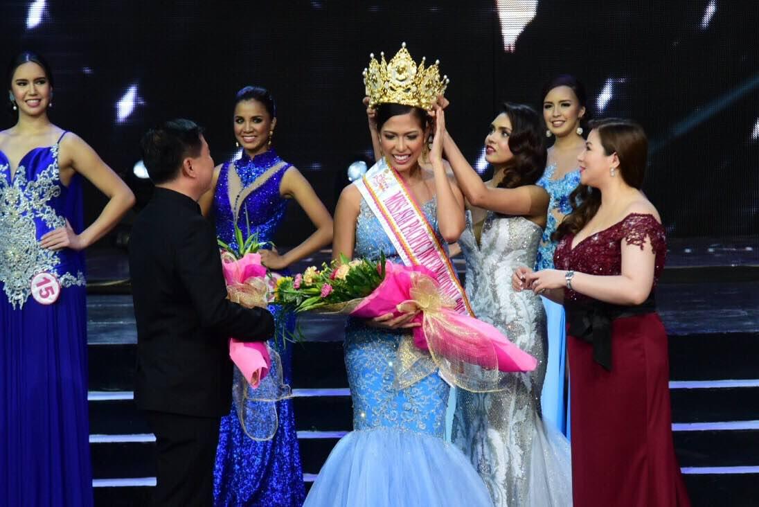 THE CORONATION. Cebu's Ilene Astrid de Vera is crowned Mutya ng Pilipinas - Asia Pacific International. Photo by Alecs Ongcal/ Rappler
