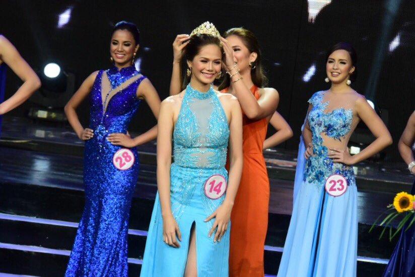 TOP MODEL. Isabela's Hannah Khayle Iglesia wins Mutya ng Pilipinas - Top Model of the World. Photo by Alecs Ongcal. Rappler