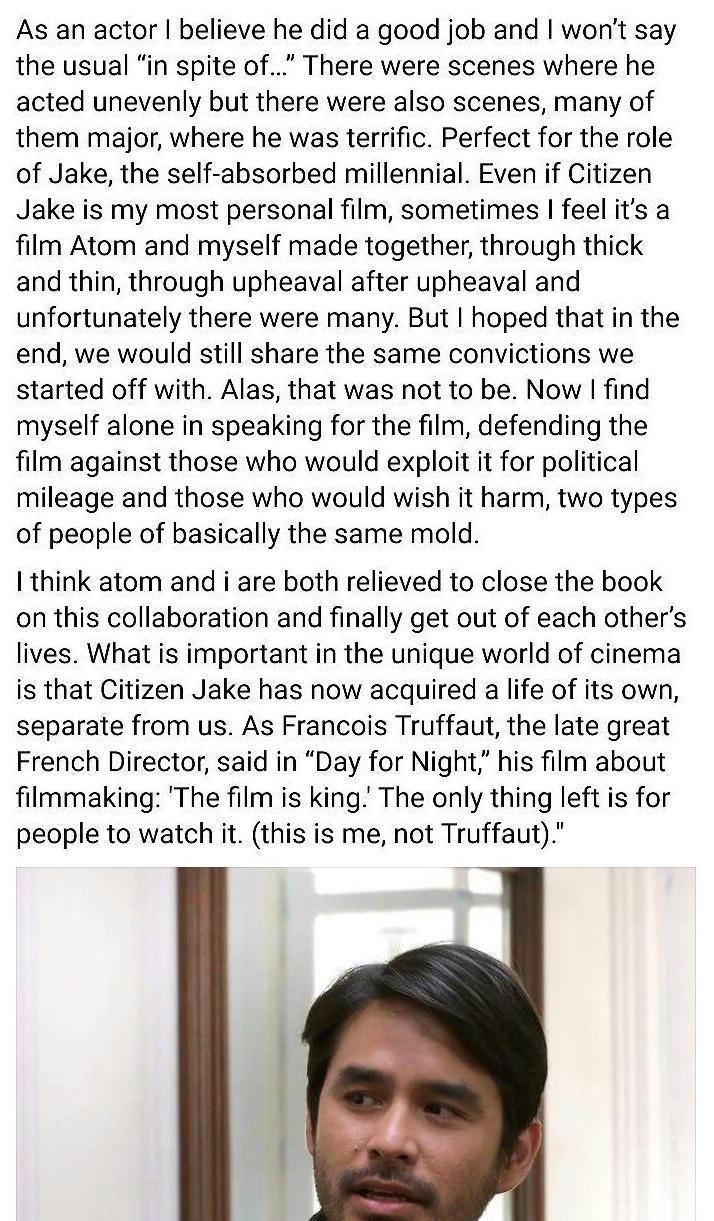 Screenshot from Facebook.com/CitizenJakeFilm