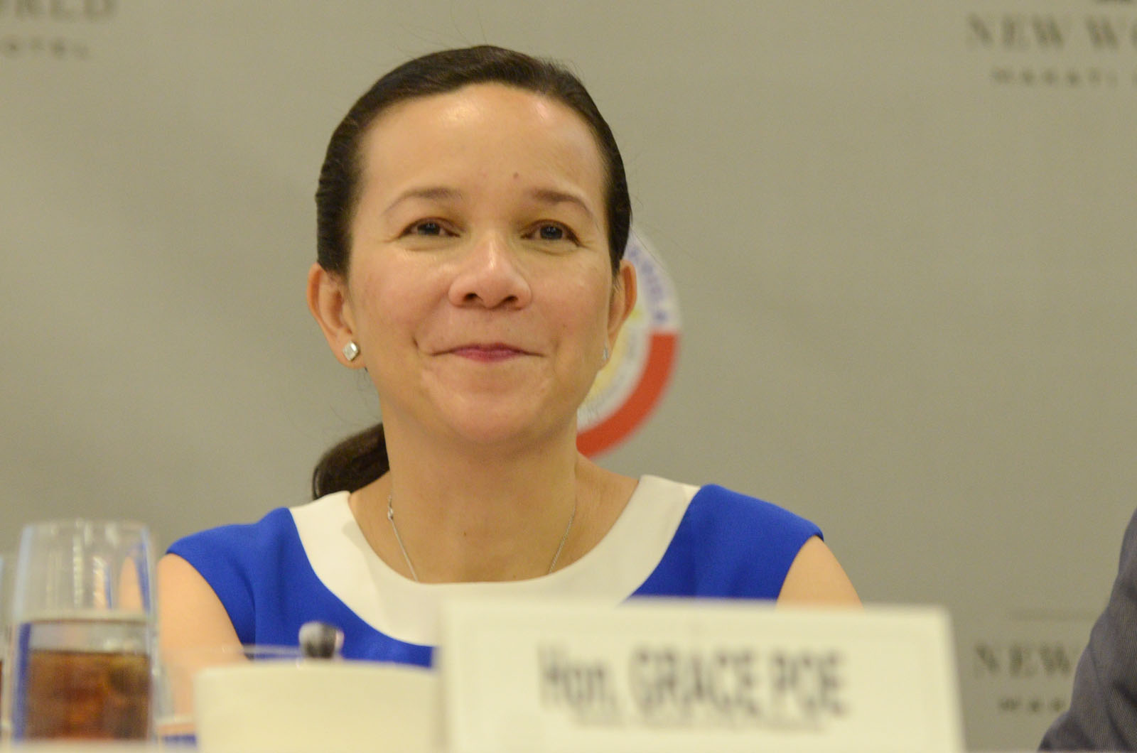 NATURAL BORN. The Senate Electoral Tribunal votes in favor of Senator Grace Poe in the disqualification case filed against her by defeated senatorial candidate Rizalito David. File photo by Alecs Ongcal/Rappler