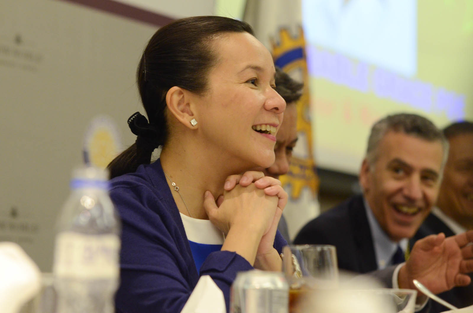US STANCE. Senator Grace Poe says the Philippines cannot rely on the US to defend it in its maritime dispute against China. File photo by Alecs Ongcal/Rappler