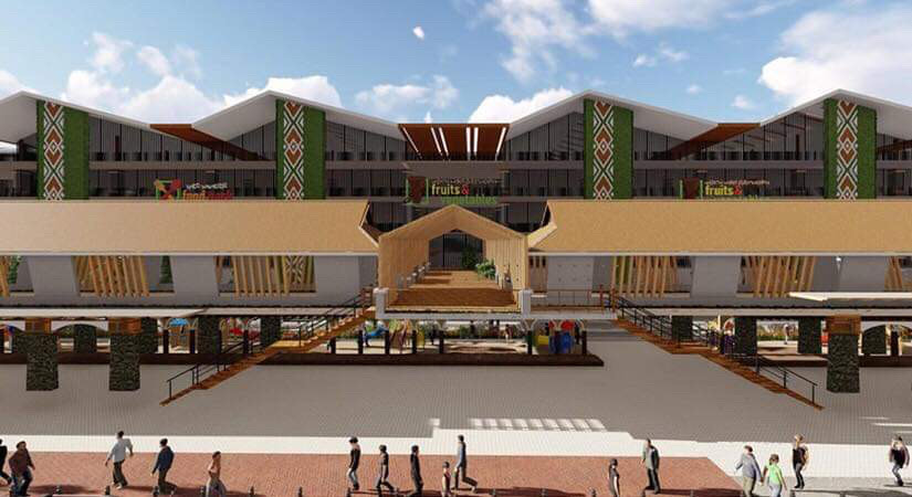 NEW BAGUIO MARKET? An artist's rendition of the proposed modernization of the Baguio market. Image courtesy of the Baguio city government