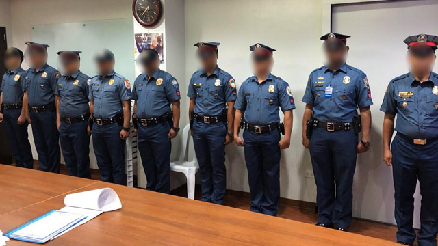 BASHERS. PNP chief Oscar Albayalde summoned his cop haters from social media to his Camp Crame office. Sourced photo