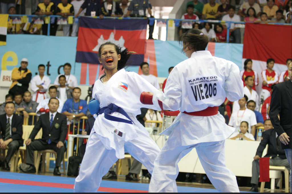 CHAMP. Gretchen Malalad bags her third SEA Games gold. Contributed photo
