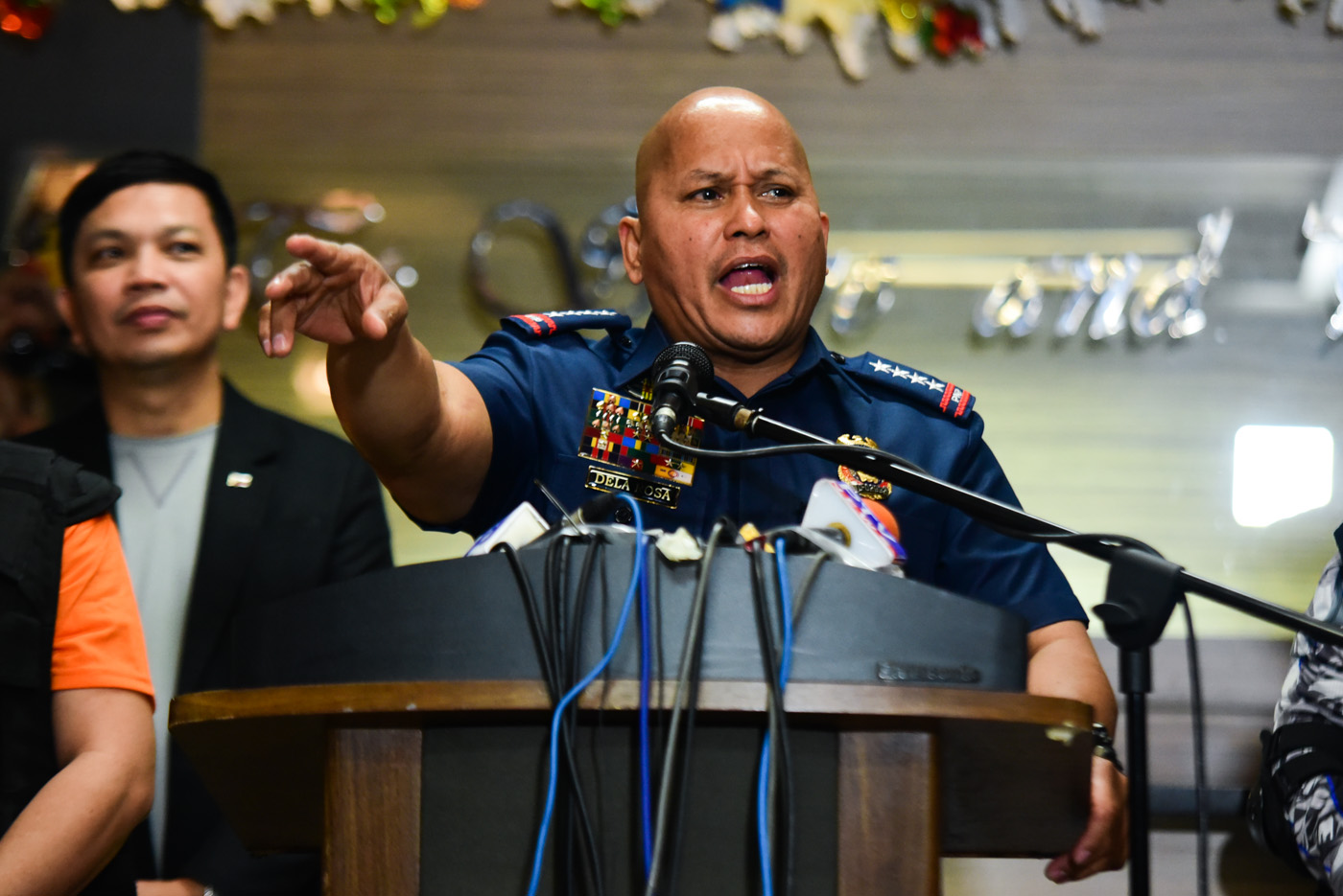 JUST ONE CASE. PNP chief Dela Rosa says the killing of the grade 5 student was an isolated case. File photo by Alecs Ongcal/Rappler