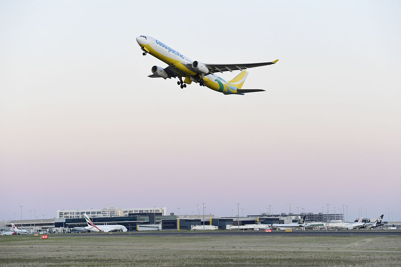 MELBOURNE, HERE WE GO. Cebu Pacific launches its Melbourne route on August 14, 2018. Photo courtesy of Cebu Pacific