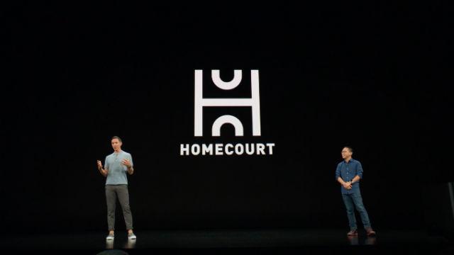 NASH AND LEE. Basketball legend Steve Nash and CEO of app developer Nex Team announce the new app.