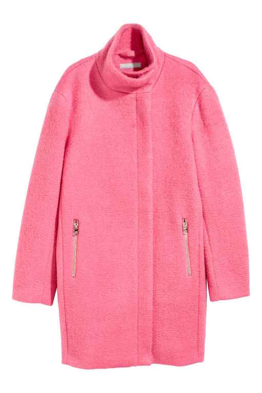 Wool-blend coat (P4,990) from hm.com