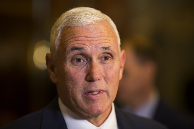 US-NORTH KOREA. US Vice President Mike Pence says America's commitment to the ASEAN region is 'steadfast and enduring.' File photo by Dominick Reuter/AFP