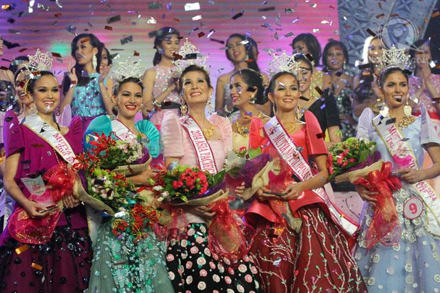 MUTYA NG PILIPINAS 2014. Eva as one of the winners of the Mutya ng Pilipinas 2014 queens. File photo by Manman Dejeto/Rappler