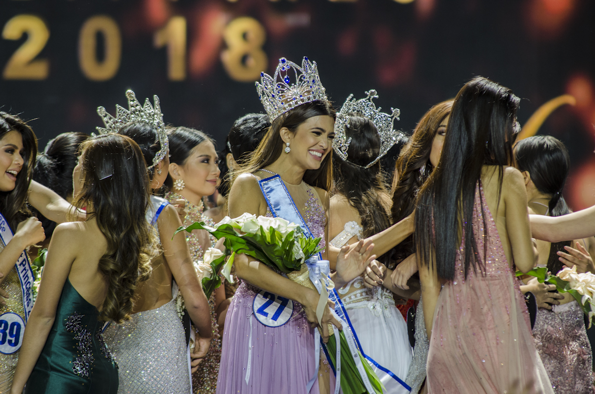 Katarina crowned as Miss World Philippines 2018.  File photo by Rob Reyes/Rappler