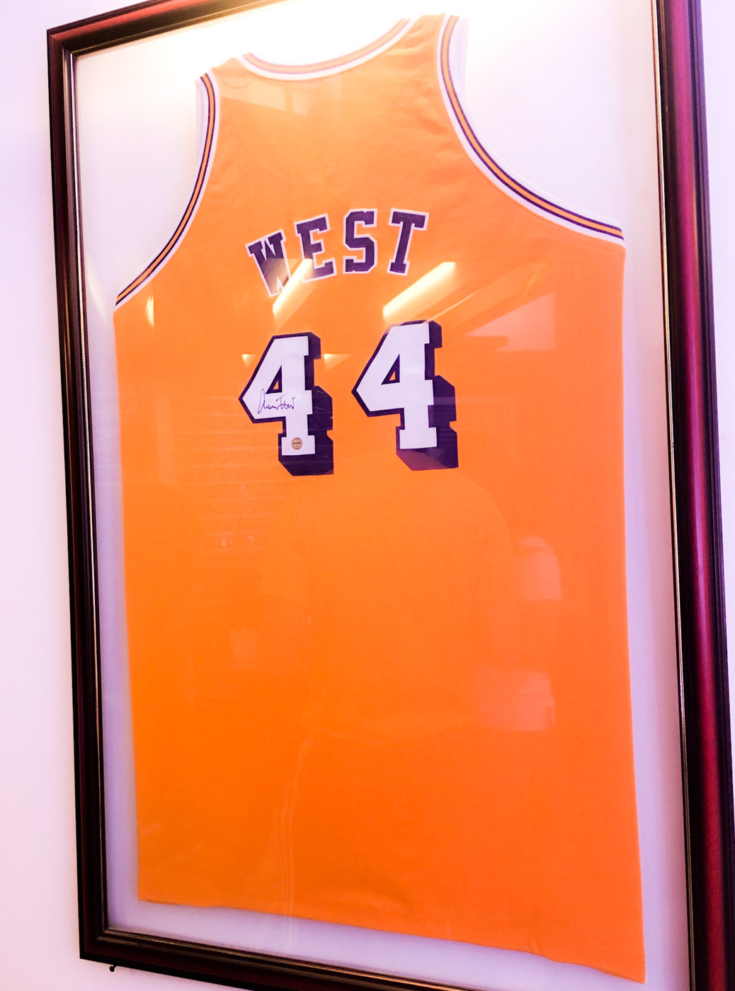 MAN ON THE LOGO. Jerry West will always be famed for being the man on the NBA logo. Photo by Beatrice Go/Rappler